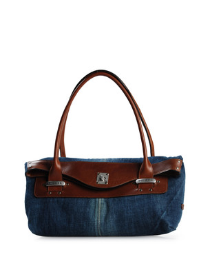 45026754F0 lar1 1 On my wishlist   Diesels new Schubert Denim Handbag!